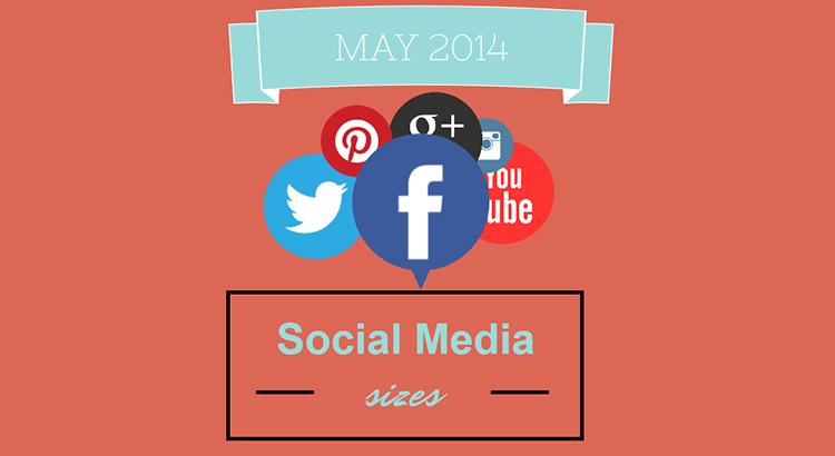 Social Media Design Sizes – 2014